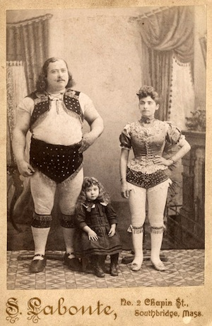 louis cyr and family