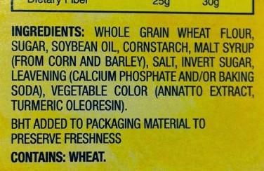 WheatThins-ingredients
